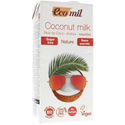 Ecomil Nature Suikervrij Bio Kokosmelk 1000ml