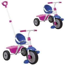 Smart Trike Fun Blue Pink Driewieler