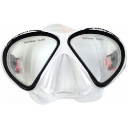 Tunturi Duikbril Diving mask Senior white Zwart