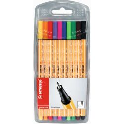 STABILO Point 88 Fineliner Etui 10 stuks