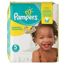 Pampers Premium Protection maandbox maat 5 (11 16 kg) 136 luiers