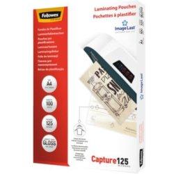 Fellowes ImageLast lamineerhoes Capture125 ft A4 250 micron (2 x 125 micron) pak van 100 stuks