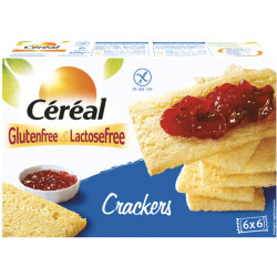 Cereal Crackers Glutenvrij (250g)