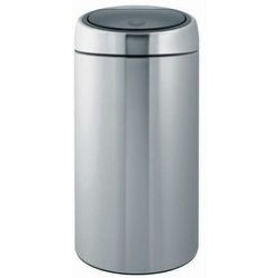 Brabantia Touch Bin Recycle Prullenbak 2 x 20 l Matt Steel Fingerprint Proof