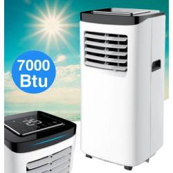 Domair Arctic Mobiele Airconditioner 7.000 BTU met Touch Display Airco