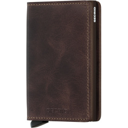 Secrid Slim Wallet Portemonnee Vintage Chocolate