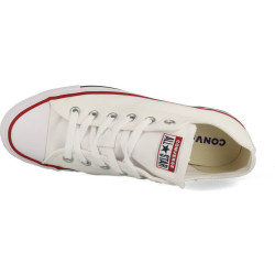 Converse Chuck Taylor All Star OX wit rood