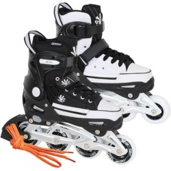 Tempish Magic Rebel Inline Skates junior zwart wit maat 29 32