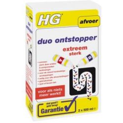 Hg Duo Ontstopper 2 X 500 Ml (1st)
