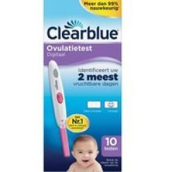 Clearblue Digitale Ovulatie Stick (10st)