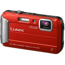 Panasonic LUMIX DMC FT30 Rood
