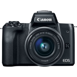 Canon EOS M50 systeemcamera Zwart 15 45mm IS STM