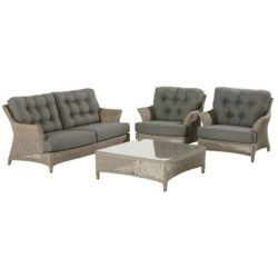 4 Seasons Outdoor Loungeset Valentine Pure