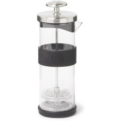 Barista Co Melkopschuimer Glas Ø 7 x 21 cm Electric Steel