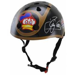 Kiddimoto Barry Sheene Small Design Skatehelm Fietshelm