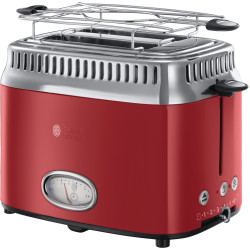 Russell Hobbs 21680 56 Retro Vintage Broodrooster Ribbon Red