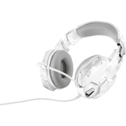 Trust GXT322W Gaming Headset (White Camouflage)