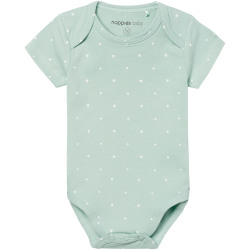Noppies Romper Sevilla Grey Mint Maat 74