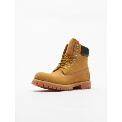 Timberland Heren 6 In Premium Waterproof (wide fit) Klassieke laarzen Geel (Wheat Nubuck) 41 EU