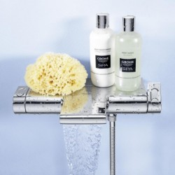 Grohe badmengkraan opbouw New Grohtherm 2000 Cool Touch chroom
