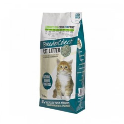 BreederCelect Kattenbakvulling 100 Gerecycled 30 l