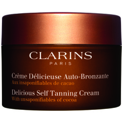 Clarins Delicious Self Tanning Cream Zelfbruiner 150 ml