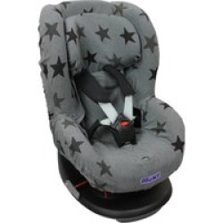 Dooky Seat Cover Groep 1 Autostoel hoes Grey Star