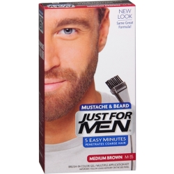 Just For Men Snor Baard Middenbruin M35
